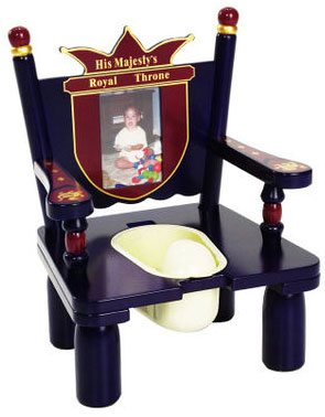 """His Majesty's """"Prince"""" Throne Potty Chair Free Shipping"""