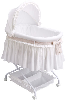 Travel Baby Bassinet with Storage by Delta