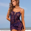 Chamela Sexy Babydoll with String Thong 13958