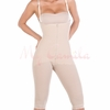 Siluet Capri Length Bodysuit With Open Breast 1006