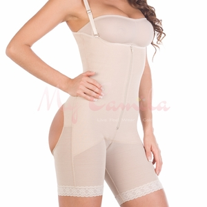 Siluet Open Buttocks Bodysuit With Open Breast 1029