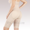 Siluet Knee Length Bodysuit With Open Breast 1037