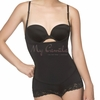 Braless Dual Compression Boyshort Body Shaper  | Vedette 303