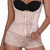 Slimming Latex Lace Boyshort Body Shaper  | Vedette 305