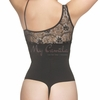 Slimming Latex Spanish Lace Thong Body Shaper |Vedette 307