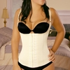Vedette Open Breast Waist Cincher Vest 100