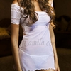 Chamela Sexy Babydoll with String Thong 13658