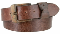 "3861 Genuine Full Grain Prime Series Vintage Leather Belt  1-1/2"" wide MADE IN USA"