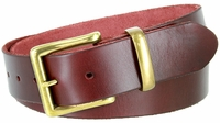 "1385 Full Grain Casual Leather Belt - 1 1/2"" wide"