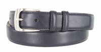 """1274 Dress Leather Belt Curved Buckle - 1 1/4"""" wide"""