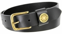 "2215 Shotshell Leather Dress Belt - 1 1/4"" wide"