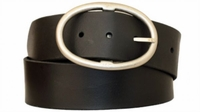 "3891 Full Grain Leather Casual Belt - 1 3/4"" wide - BLACK"