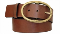 "3892 Casual Leather Belt - 1 3/4"" wide"