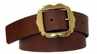 "4028 Women's Casual Leather Belt - 1 3/4"" wide"