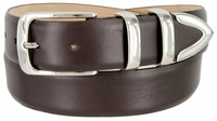 3505 Men's Genuine Smooth Casual Dress Leather Belt