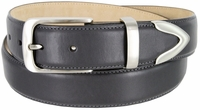 """3507 Men's Genuine Smooth Casual Dress Leather Belt - 1 3/8"""" Wide"""