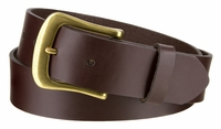 "3214 Casual Full Grain Leather Dress Belt - 1 3/8"" Wide -Made in U.S"