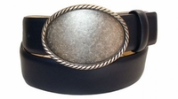 "2480 Casual Leather Belt - 1 1/2"" wide"