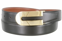 1844 Reversible Office Dress Genuine Leather Belt - 1 1/8' Wide