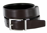 "4089A Reversible Leather Dress Belt - 1 1/8"" wide"
