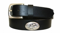 2204 Moose Full Grain Leather Belt - 1 1/4 wide