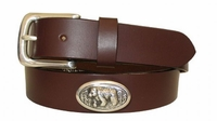 "2209 Bear Full Grain Leather Belt - 1 1/4"" wide"