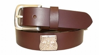 "2211 Basket Full Grain Leather Belt - 1 1/4"" wide"