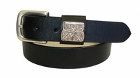 2212 Sporting Basket Full Grain Leather Belt - 1 1/4 wide