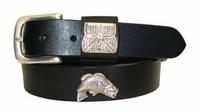 "2216 Bass Full Grain Leather Belt - 1 1/4"" wide"