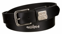 "2213 Trout Full Grain Leather Belt - 1 1/4"" wide"