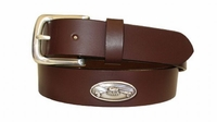"2221 Fishing Full Grain Leather Belt - 1 1/4"" wide"