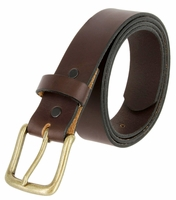 """2542 Casual leather Belt  - 1 1/4"""" Wide"""
