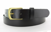 """3174 Casual Full Grain Leather Belt - Made in USA - 1 1/4"""" wide"""