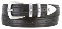 """NEW!!! 3146 Perforated Leather Dress Belt - 1 1/8"""" wide - 4 COLORS AVAILABLE"""