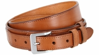 """Traditional Ranger Full Grain Smooth Leather Belt - 1 1/2"""" - 1"""" Wide TAN"""