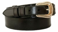 "4643 Traditional Ranger Leather Belt - 1 1/2"" - 1"" Wide"