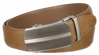 """NEW!!! Gunmetal Buckle Ratchet Handcrafted Leather Belt  -1 3/8"""" Wide - 3 Colors Available"""