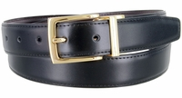 "2994 Reversible Leather Dress Belt - 1 1/8"" wide Available up to size 54"""