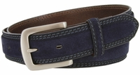 """NEW!!! 3218 Suede Casual Dress Leather Belt - 1 3/8"""" wide"""