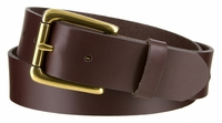 """3616 Roller Casual Smooth Leather Dress Belt - 1 3/8"""" wide"""