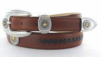State of Texas Seal Western Belt - FINAL SALE