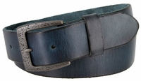 """3896 Vintage Full Grain Cowhide Leather Casual Dress Belt 1-1/2"""" Wide - 5 COLORS AVAILABLE"""
