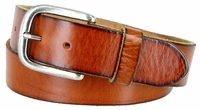 """3898 Vintage Full Grain Cowhide Leather Casual Jeans Belt 1-1/2"""" Wide - 5 COLORS AVAILABLE"""