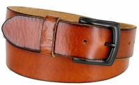 """3900 Vintage Full Grain Cowhide Leather Casual Jeans Belt - 1 1/2"""" Wide 5 COLORS AVAILABLE"""