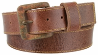 "3862 Genuine Full Grain Prime Series Classic Leather Belt  1-1/2"" wide MADE IN USA"