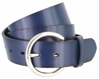 "2660 Women's Casual Genuine Leather Dress Belt - 1 1/2"" wide 5 Colors Available"