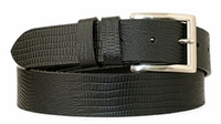 "3793 Casual  Leather Dress Belt - 1 3/8"" wide"