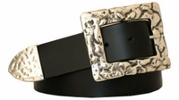 """3722 Casual Leather Belt - 1 1/2"""" wide"""