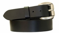 """4027 Roller Casual Leather Belt -1 1/2"""" wide"""