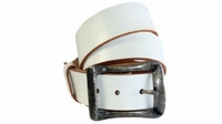"""4133 Casual Leather Belt - 1 1/2"""" wide"""